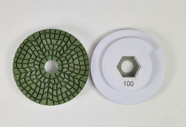 SUPER AGGRESSIVE SNAIL LOCK POLISHING PADS