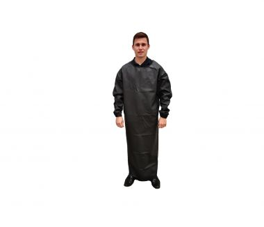 Sleeved Rubber Apron - Large
