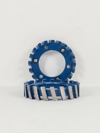 88mm x 20mm Segmented Milling Wheel - 50 Centre 3 Hole