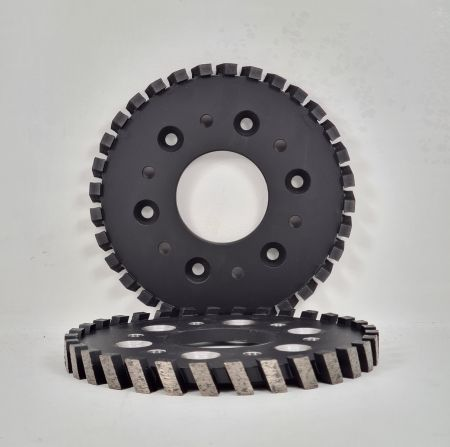 170MM SEG WHEEL 6X8MM HOLES @ 100 PCD 60MM BORE