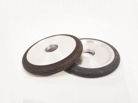100mm Black Buff Resin Fluting Wheel 12.7mm