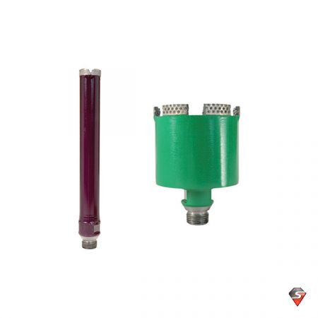 "25mm x 60mm Aero Diamond Core Drill - 1/2"" Gas Fitting"