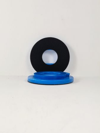 125mm Snail Lock Velcro Backing Pad Blue (10mm thick)