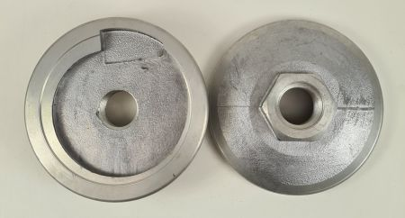130mm Snail Lock Backing Pad M30 Central Thread