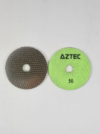 Aztec Electroface Rigid Diamond Stone Polishing Pads Stonegate Tooling