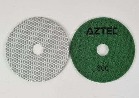 Aztec Resin Flex Wet Dry Diamond Resin Polishing Pads