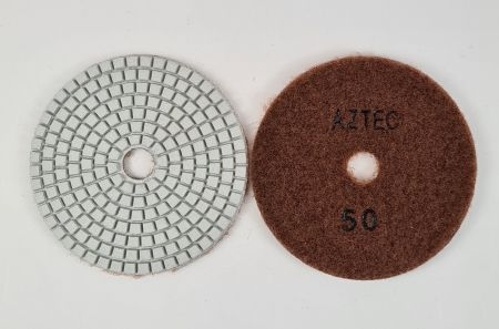 100mm 50G Duo Flex Wet Or Dry Polishing Pad
