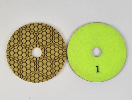 100mm 3 Step Wet Polishing Pads