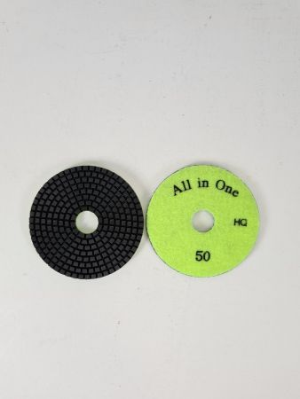 100mm 50G Aztec All-In-One Wet Polishing Pad