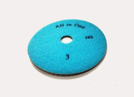 125mm Pos 3 Aztec All-In-One Wet Polishing Pad