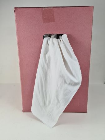 White Cotton Rags 10kg (Pink Box)