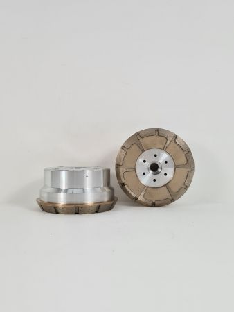 120MM DIA 35MM Ø 60° METAL RECESS HEAD 325G P3
