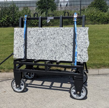 A-Frame 4932 c/w 400mm Solid Tyres & Handle 1405x995x1507mm