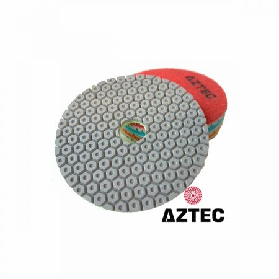 Aztec Trimax 3-Step Wet Stone Diamond Polishing Pads - Stonegate Tooling