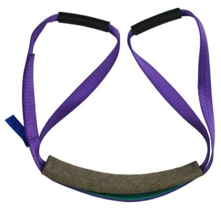Double Handed Lifting Sling With Felt Seat