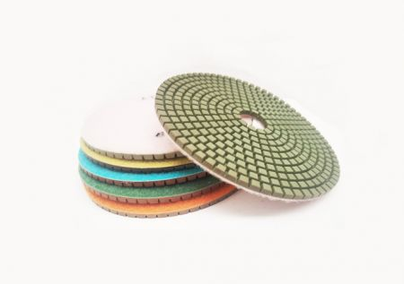 125mm Pos 6 Aztec All-In-One Wet Polishing Pad