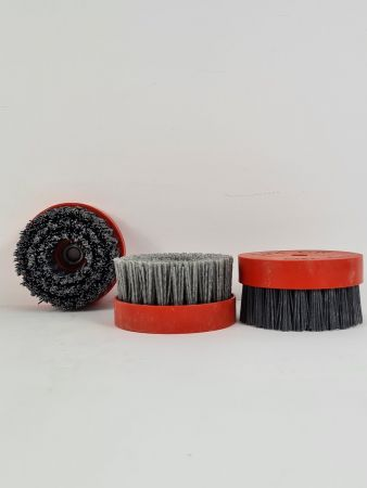 D-LINE SILICONE CARBIDE TEXTURING BRUSHES