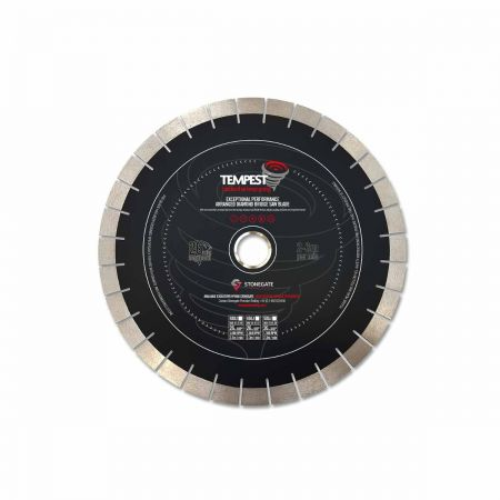 The NEW TEMPEST Diamond Bridge Saw Blade - Stonegate Tooling