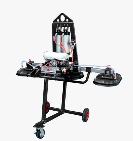 Stone Vacuum Lifter with Rectangle Suction Cup-Black Rubber