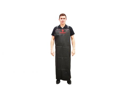 Rubber Apron With Cross Braces