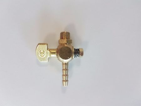 7W19S Water Cock for Air Polisher