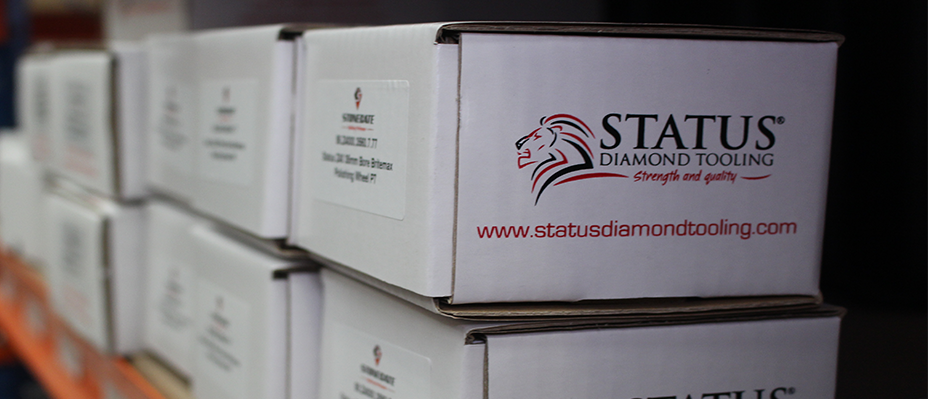 Stonegate, the exclusive worldwide distributor for Status Diamond Tooling!