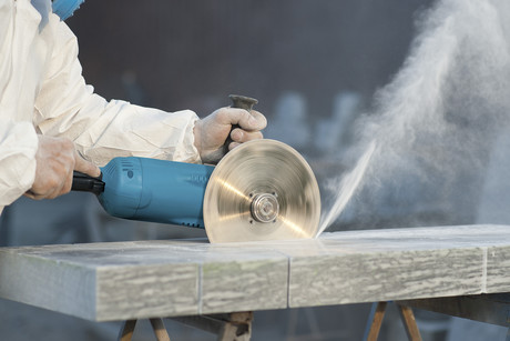 Dry Cutting Stone - Stone Dust