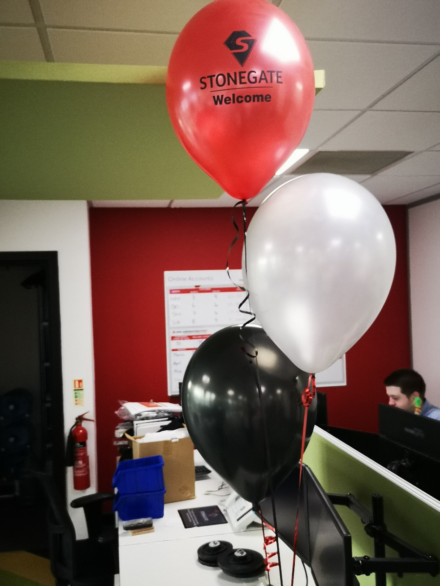 Stonegate precision tooling balloons