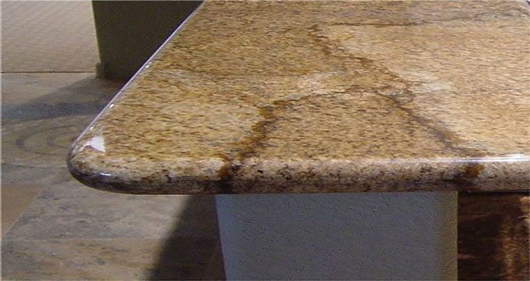 cnc bullnose profile kitchen counter top