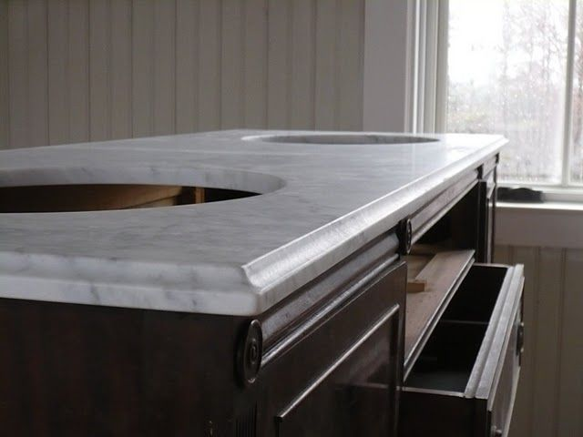 cnc cove profile kitchen counter top