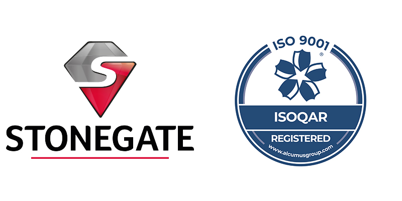 Stonegate receives its ISO 9001:2015 Accreditation