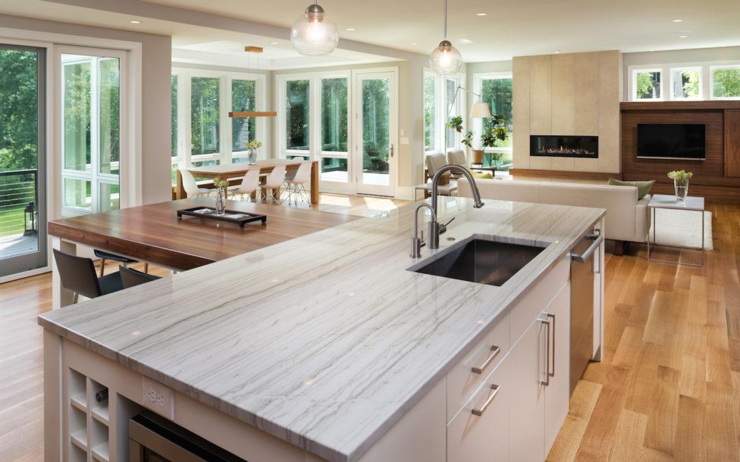 A Quartz Kitchen Countertop