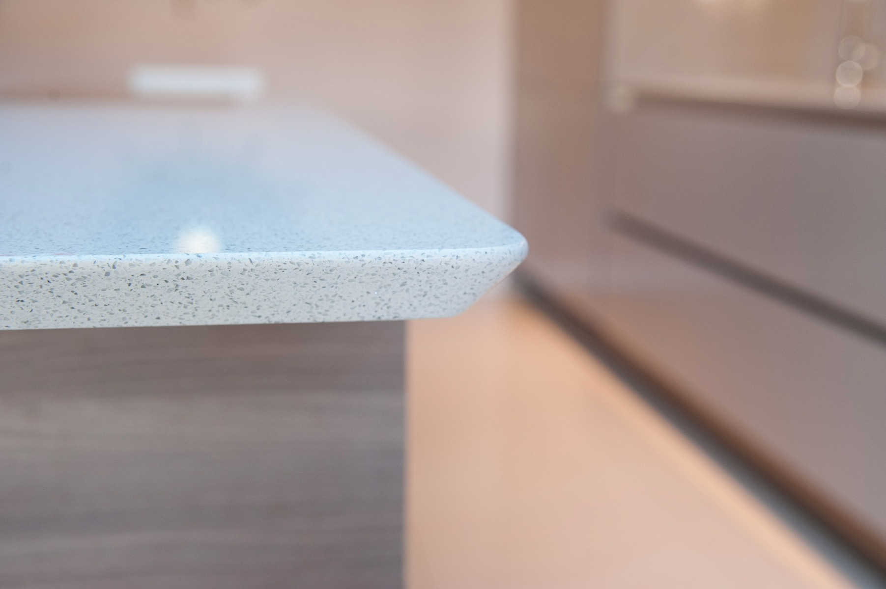 cnc shark nose profile kitchen counter top